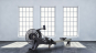 TUNTURI PLATINUM PRO Air Rower lifestyle